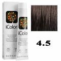 Крем-краска для волос iColori ТОН - 4.5 красновато-коричневый, 90мл (KayPro)