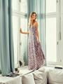 Электронная выкройка Burda - Макси-платье с запахом 11