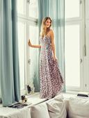 Электронная выкройка Burda - Макси-платье с запахом №11