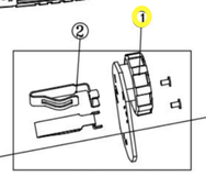 регулятор оборотов в сб. MG1213ELi WORTEX KP523-01+02