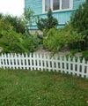 Заборчик декоративный №3 Gotika 3,1м высота 35см (7 эл.) белый