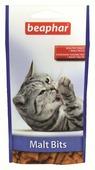 """Лакомство для кошек Beaphar """"Malt Bits"""", для вывода шерсти из желудка, 35 г"""