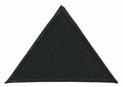 """Аппликация Prym """"Треугольники"""", цвет: черный, 2 шт"""