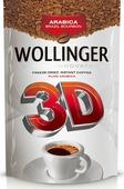 Кофе растворимый Wollinger 3D сублимированный, дой-пак, 95 г