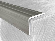 Уголок алюминиевый 3414618Н, дуб снежный 135 см