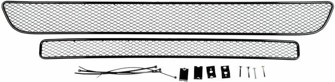 Сетка для защиты радиатора Arbori, внешняя, для Suzuki Vitara (2015-) без декоративной накладки на передний бампер, 2 шт