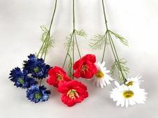Цветок искусственный Микс цветов полевой №41.05