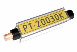 Маркер Partex PT-02 c карманом, длина 15 мм, Ø 1.3-3.0 мм, прозрачный (200 шт.) {PT-02015A}