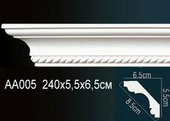 Лепнина Гибкий потолочный плинтус перфект AA005F