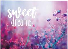 """Открытка на каждый день Дарите Счастье """"Sweet dreams"""", 7,5 х 10,5 см"""