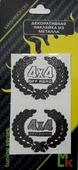 Наклейка Mashinokom, PKTA 044, металл, 35х45 мм