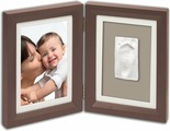 Baby Art Рамочка двойная Классика цвет коричневый