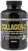 "Препарат для суставов и связок Ironman ""Collagen-C"", 144 капсул"