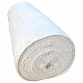 Холстопрошивное полотно белое 80 см, рулон 50 м (200 г/м2)
