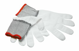 Перчатки нумизматические из полиэстера бесшовные (размер: S) Z401901
