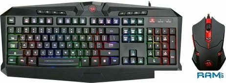 Клавиатура + мышь Redragon S101-1