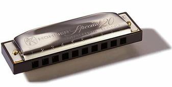 Губная гармошка Hohner Special 20 560/20 G (M560086)