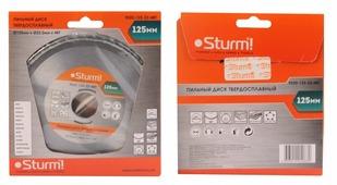 Пильный диск, размер 125x22x48 зубьев, твердосплавные напайки Sturm! 9020-125-22-48T