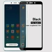 Противоударное защитное стекло на весь экран Full Screen Cover 0.3mm черное Xiaomi Redmi 6