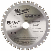 Milwaukee Диск пильный по металлу D150x20мм 34Z (48404080)