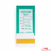 """Медтест Крафт-пакеты комбинированные для стерилизации """"пспв - стеримаг"""", 60х100 мм, с прозрачным окошком, 100 шт. Медтест."""