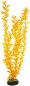 """Растение для аквариума Barbus """"Людвигия"""", пластиковое, цвет: желто-оранжевый, высота 50 см"""