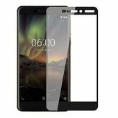 Противоударное защитное стекло Full Screen Cover 0.3m черное Nokia 6.1 (2018)
