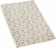"""Ткань для пэчворка Артмикс """"Винтажные розы"""", цвет: белый, розовый, 48 x 50 см"""