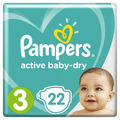 Детские подгузники Pampers Active Baby-Dry 3 Midi (22 шт)