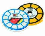 Плоский профиль Partex для маркеров для PM-20, PS-20, ширина 9.0 мм, желтый (диск 17 м) {PP+09000SN4}