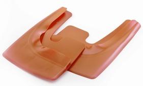 Брызговик № 20 Триада Lux красно-оранжевый перламутр универсальный + 50(в блистере)