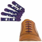 Вощеные шнурки Saphir (круглые, тонкие) (Цвет-48 Лаванда Размер-75 см)