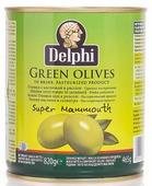 Delphi Оливки с косточкой в рассоле Super Mammouth 91-100, 820 г