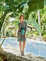 Электронная выкройка Burda - Платье с высокими боковыми разрезами 2