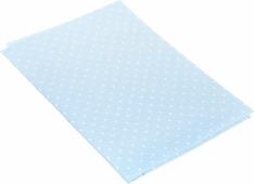 """Ткань для пэчворка Артмикс """"Горошек"""", цвет: голубой, белый, 48 х 50 см"""