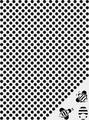 """Трафарет пластиковый Craft Premier """"Соты и пчёлки"""", 12,5 х 17 см"""