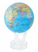 Самовращающийся глобус MOVA GLOBE d22 см с политической картой Мира