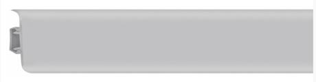 Плинтус напольный пластиковый Grace Technical Т02 Серый