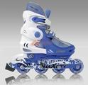 Коньки роликовые MaxCity Winner Light Blue 608Z размер 26-29 (Спортивная коллекция)