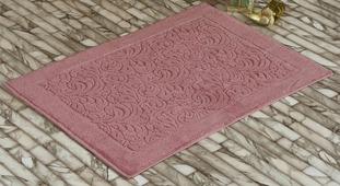 """Коврик для ванной Karna """"Gonca. Esra"""", цвет: розовый, 50 х 70 см"""