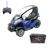 """Радиоуправляемый скутер трицикл """"Drive Racer"""" цвет синий"""