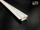 Алюминиевый профиль врезной для светодиодной ленты 22*7мм