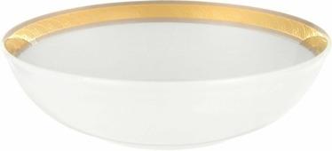 Салатник Thun 1794 a.s. Кристина Платиново-золотая лента, круглый, БТФ0554, 19 см