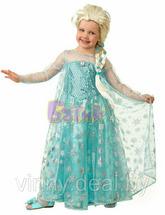 Карнавальный костюм батик Эльза Холодное сердце Арт. 7070