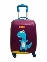 Чемодан Magio ручная кладь-детский Динозавр, разноцветный