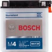 Аккумулятор для мотоциклов и скутеров Bosch M4 F29 (12N10-3B/YB10L-B) 511 013 009 (11 A/h), 150A R+