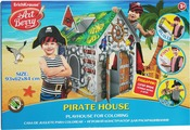 Игровой конструктор для раскрашивания Artberry Pirate House, большой