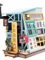 Набор для изготовления игрушки ТМ Цветной Деревянная хижина