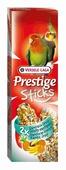 """Лакомство """"Versele-Laga"""" для средних попугаев, палочки с экзотическими фруктами, 2х70 г"""
