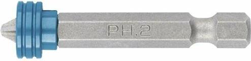 Бита Gross PH 2x50 мм для ГКЛ, с ограничителем и магнитом, S2